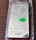 Ten Ounce Silver Bar