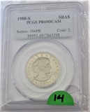 1980-S Proof Susan B Anthony