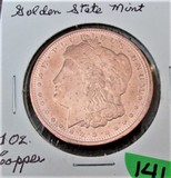 Golden State Mint 1oz Copper