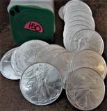 (20) 2008 BU American Eagle Dollars