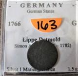 1766 German Coin