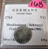 1763 German Coin