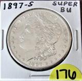 1897-S Super BU Morgan Dollar