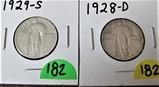 1928-D, 1929-S Quarters