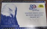 2000 US Mint 50 State Quarters Proof Set