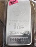 10 Ounce Bar Engelhard Silver Bar