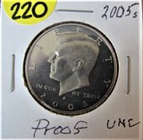 2005 S Proof Kennedy