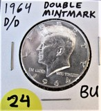 1964 D/D Double Mint Mark