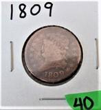 1809 Half Cent