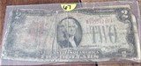 1928-D Two Dollar Bill