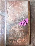 2013 One Pound Copper