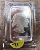 1oz .999 Fine Silver Bar