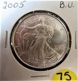2005 BU Silver Eagle