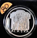 1998 Official Alaska Iditarod Medallion