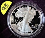 1989 Silver American Eagle Proof