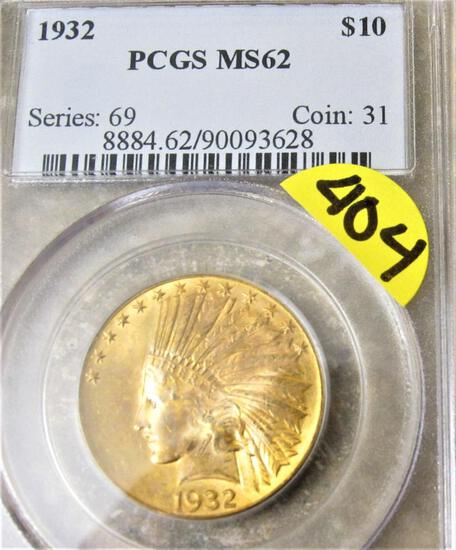 GOLD, SILVER, COINS AND CURRENCY AUCTION
