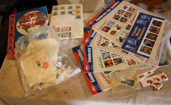 Stamps, lots of unused