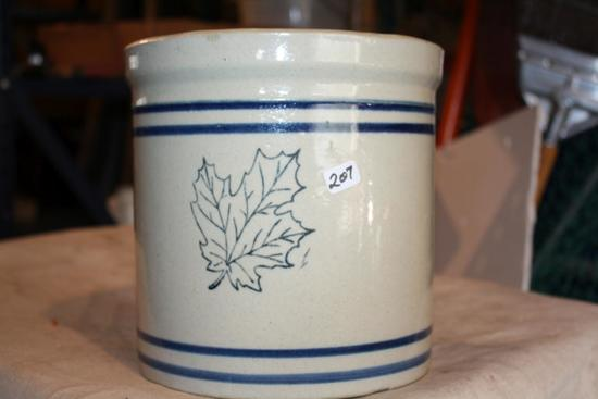 Rare Western Stoneware 1 Gal. Pantry Jar