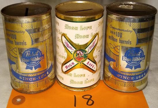 3 Steel Beer Banks