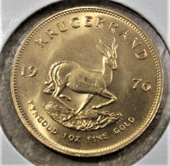 GOLD, COINS AND CURRENCY AUCTION