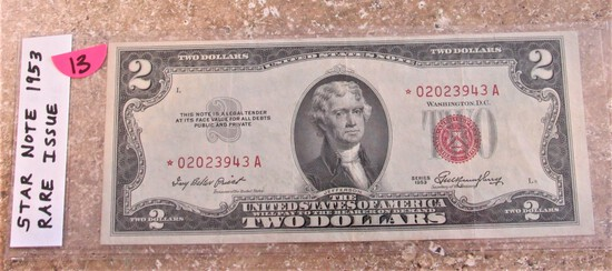 Star Note 1953 $2