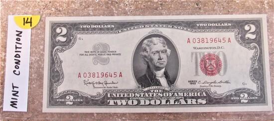 Mint Condition 1963 $2