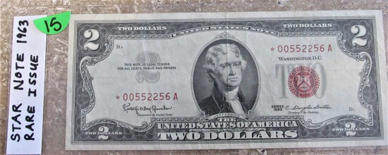 Star Note 1963 $2