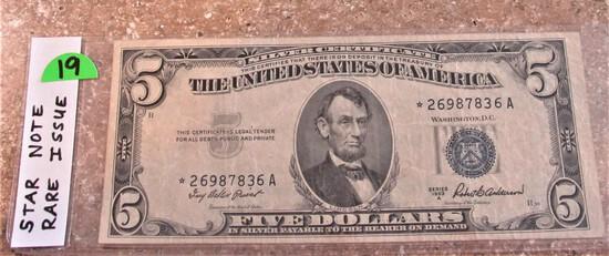 1953 A High Grade $5