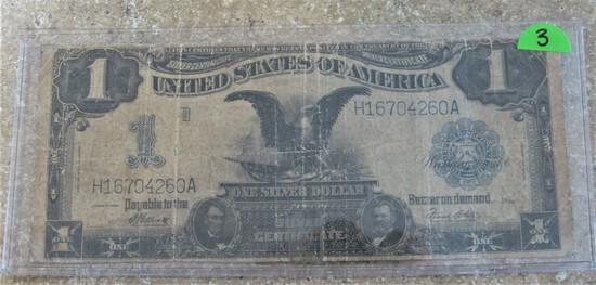 1899 Large Dollar Note