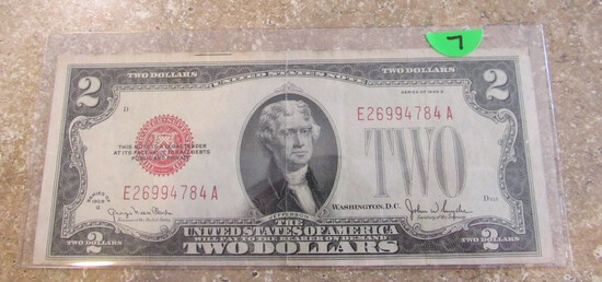 1928 $2 Note