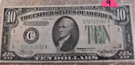 1934 A $10 FRN