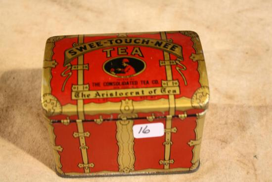 Antique Swee-Touch-Nee Tea Tin