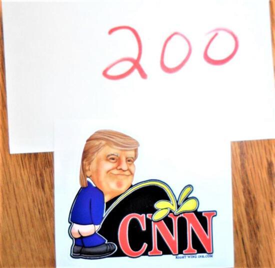 Trump/CNN Sticker