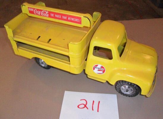 Buddy L Coke Truck