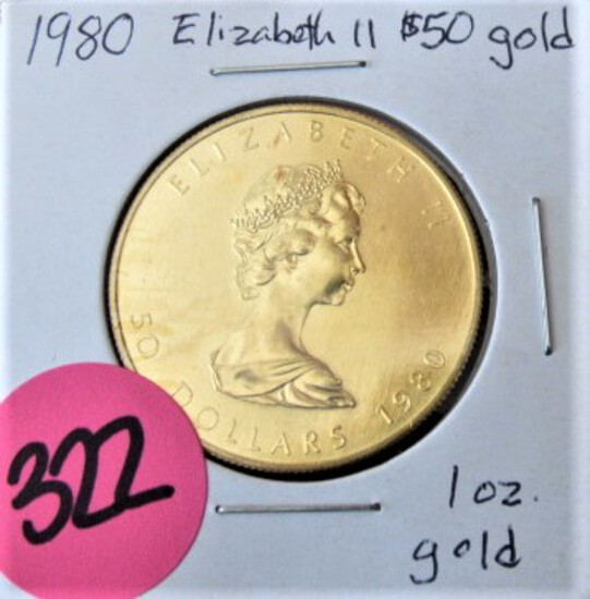 GOLD AND SILVER COINS AND CURRENCY AUCTION