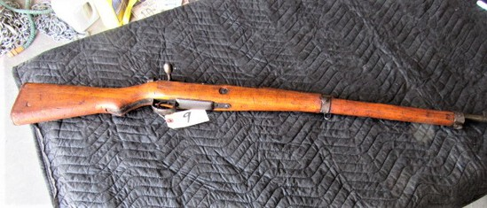 WWII Japanese Last Ditch Battle Rifle, ser. # 5494