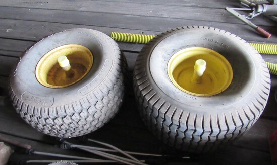 2 Implement Tires