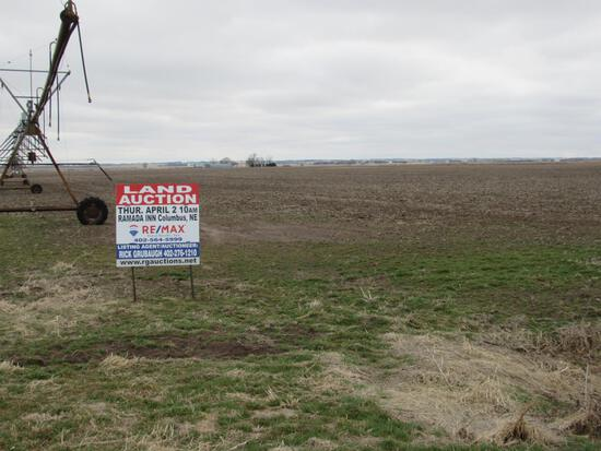 80 Acres of Butler Co Pivot Irrigated Farm Ground
