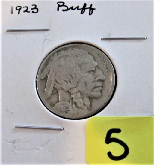 1923 Buffalo Nickel