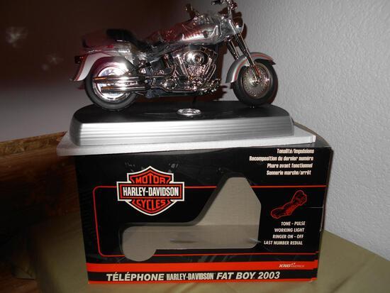 Harley Davidson Fat Boy 2003 Telephone