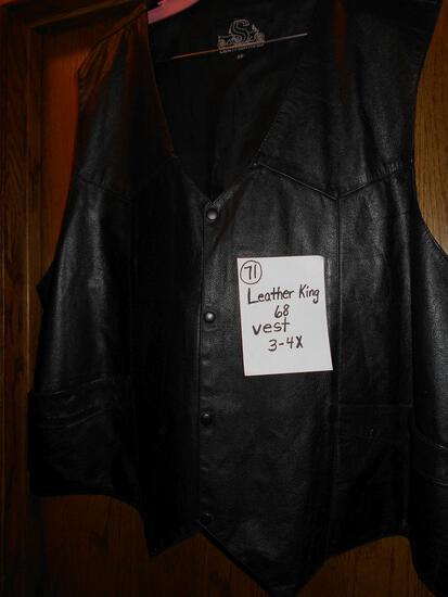 Leather King 68 Vest