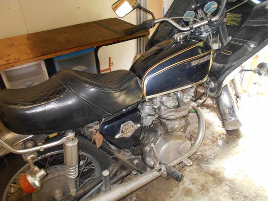 1973 450 Honda Motorcycle