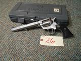 Ruger New Model Single Six .17 HMR cal w/ case