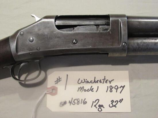 "Winchester Model 1897 12 ga 32"" Barrel"