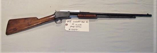 Winchester Model 62 22 S. L. or LR Pump Action