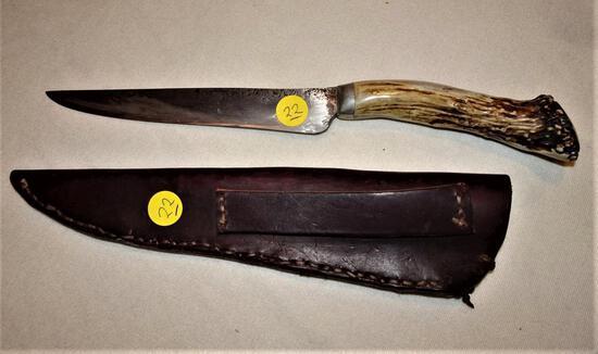 """10"""" Knife & Sheath + 2 knives"""
