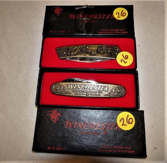 2 Winchester Pocket Knives