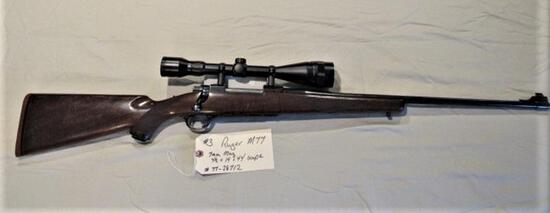 Ruger M77 7mm Mag 4 1/2 X14 X 44 Scope