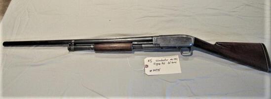 "Winchester Model 1912 12 ga Full Choke 30"" Barrel"