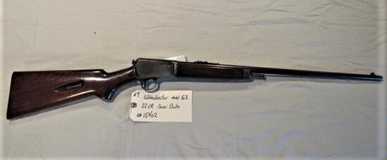 Winchester Model 63 22 LR Semi Auto